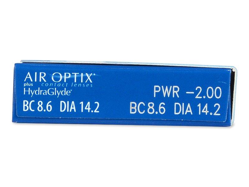 Predogled lastnosti - Air Optix plus HydraGlyde (6 leč)