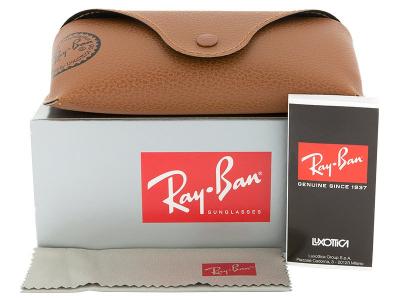 Ray-Ban RB3025 - 112/4L AVIATOR LARGE METAL  - Predogled pakiranja