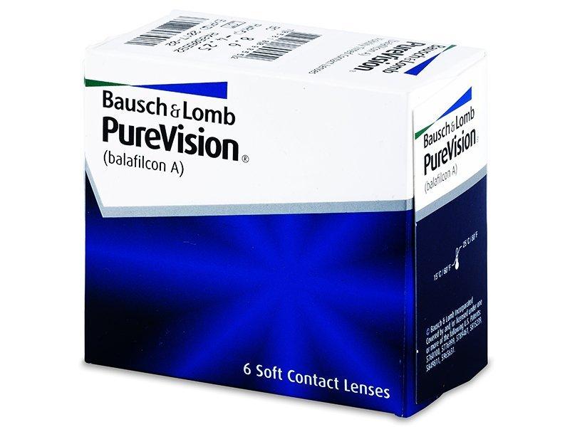 Mesečne kontaktne leče - PureVision (6leč)