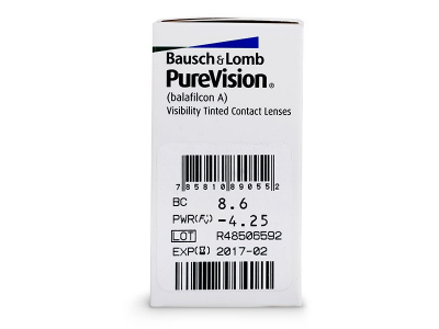 PureVision (6leč) - Predogled lastnosti
