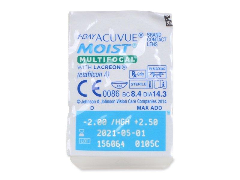 1 Day Acuvue Moist Multifocal (30 leč) - Blister pack preview