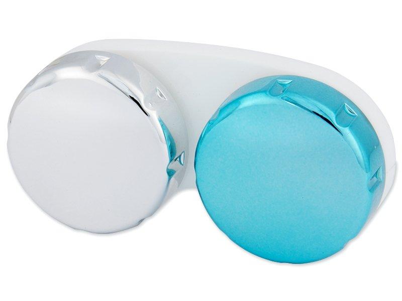 Škatlica zrcalna - modra