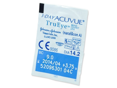 1 Day Acuvue TruEye (30leč) - Predogled blister embalaže