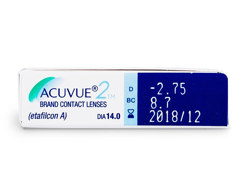 Predogled lastnosti - Acuvue 2 (6leč)