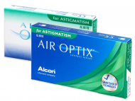 Kontaktne leče - Air Optix for Astigmatism (3 leče)