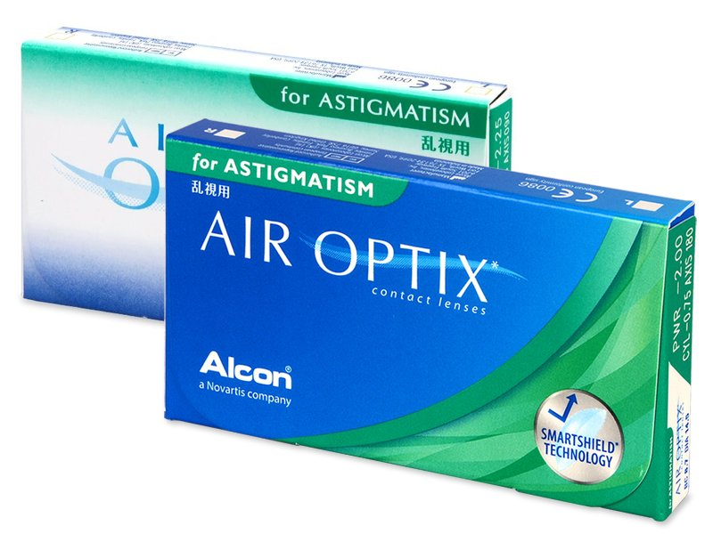 Torične kontaktne leče - Air Optix for Astigmatism (3 leče)