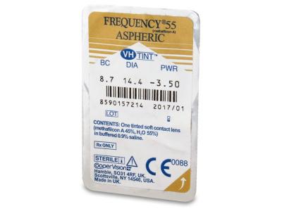 Predogled blister embalaže - Frequency 55 Aspheric (6leč)