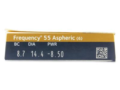 Predogled lastnosti - Frequency 55 Aspheric (6leč)