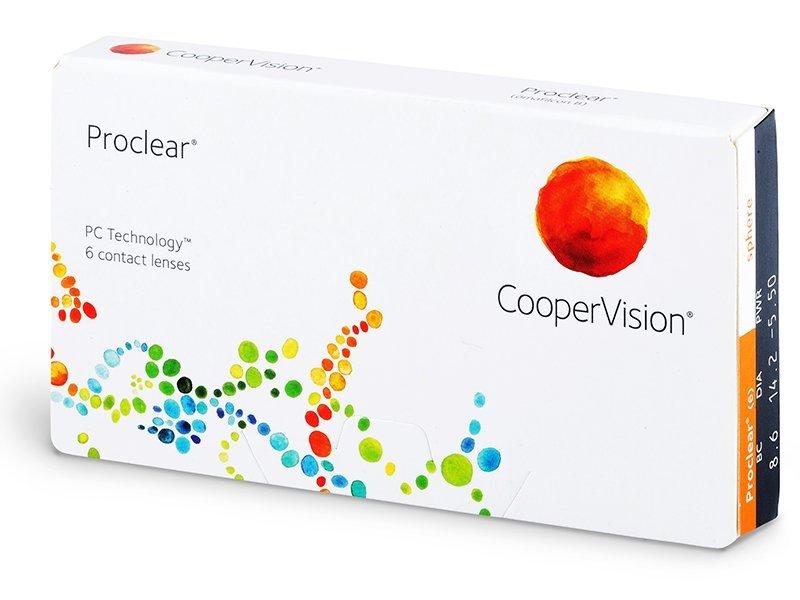 Proclear Compatibles Sphere (6leč) - Mesečne kontaktne leče