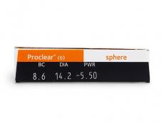 Proclear Compatibles Sphere (6leč) - Predogled lastnosti