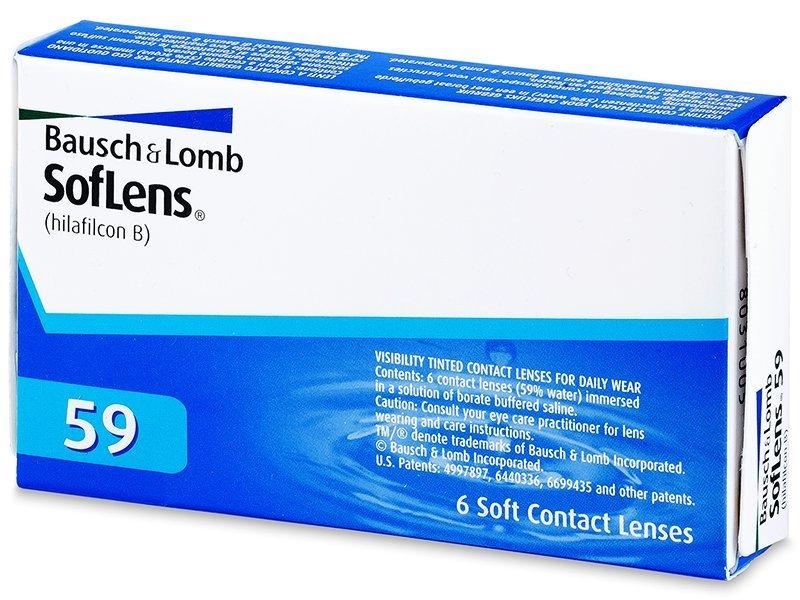 SofLens 59 (6leč) - Mesečne kontaktne leče