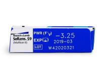 SofLens 59 (6leč) - Predogled lastnosti