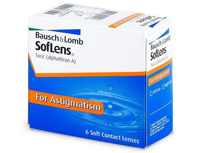SofLens Toric (6 leč) - Torične kontaktne leče