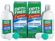 Kontaktne leče Alcon - Tekočina OPTI-FREE Express 2x355ml
