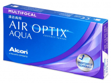 Air Optix Aqua Multifocal (3 leče) - Multifokalne kontaktne leče