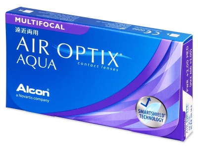 Air Optix Aqua Multifocal (3 leče) - Starejši dizajn