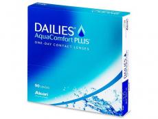 Dailies AquaComfort Plus (90leč) - Dnevne kontaktne leče