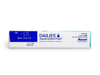 Dailies AquaComfort Plus (90leč) - Predogled lastnosti