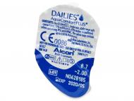 Dailies AquaComfort Plus (30leč) - Predogled blister embalaže