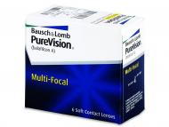 Mesečne kontaktne leče - PureVision Multi-Focal (6leč)