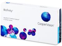 Biofinity (6leč) - Mesečne kontaktne leče