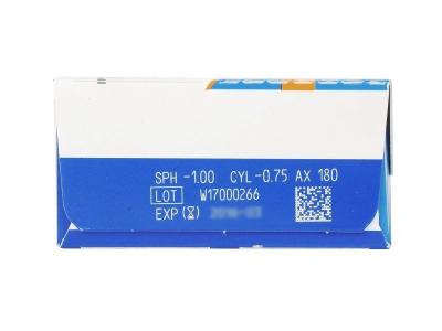 SofLens Daily Disposable Toric (30leč) - Predogled lastnosti