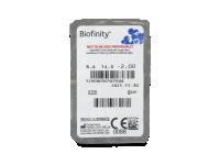 Biofinity (3leče) - Predogled blister embalaže