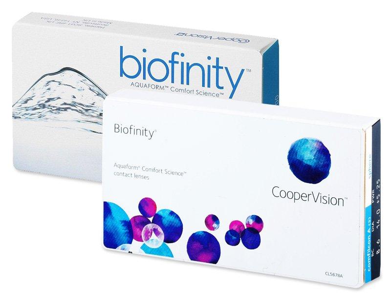 Biofinity (3leče) - Starejši dizajn