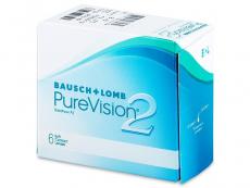 PureVision 2 (6leč) - Mesečne kontaktne leče