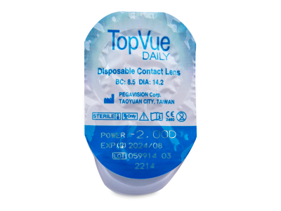 TopVue Daily (30leč) - Predogled blister embalaže