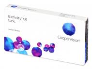 Kontaktne leče Biofinity - Biofinity XR Toric (3 leče)