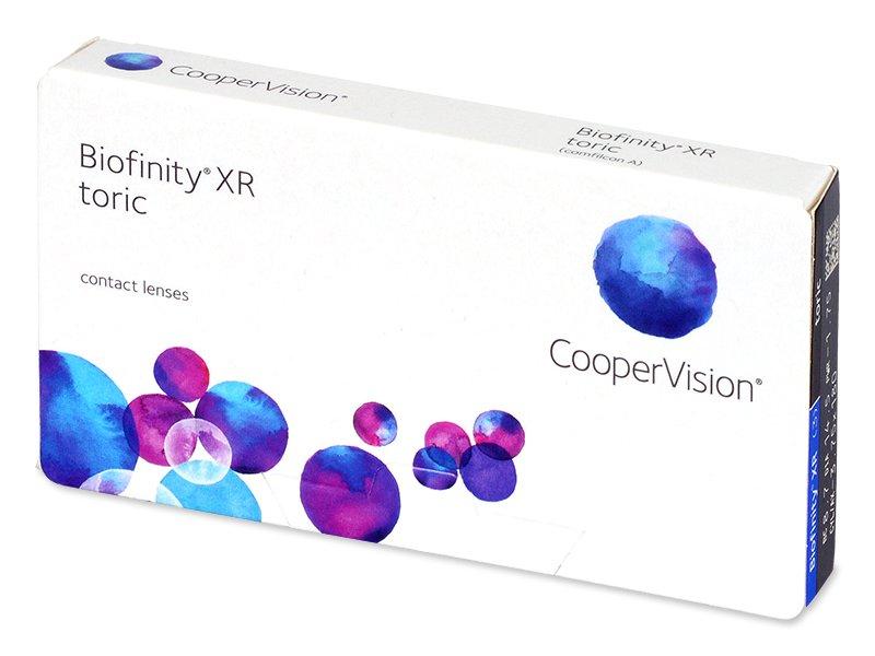 Biofinity XR Toric (3 leče) - Torične kontaktne leče