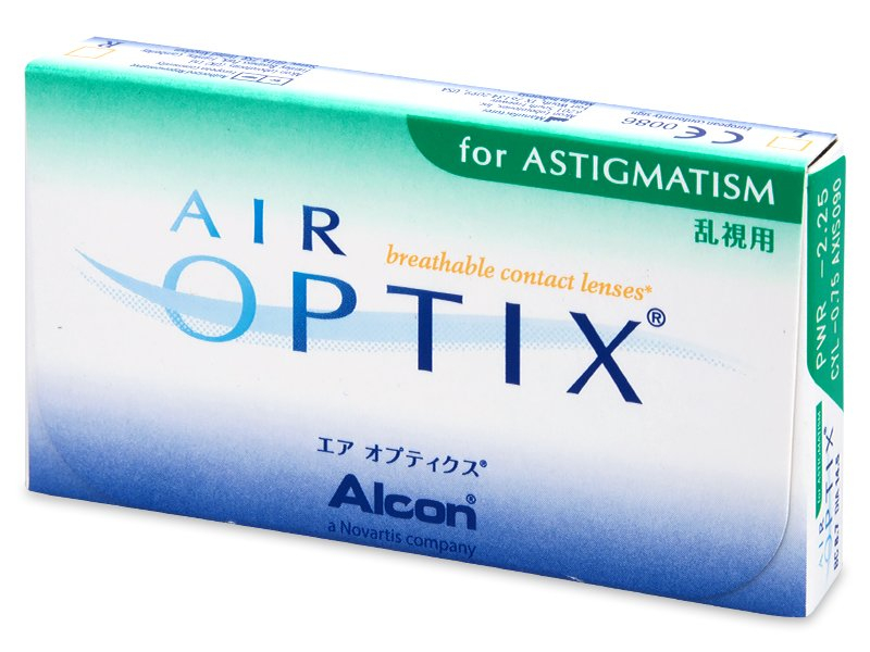 Air Optix for Astigmatism (6 leč) - Starejši dizajn